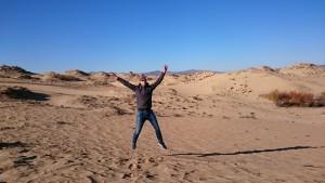 Thomas in Mongolië